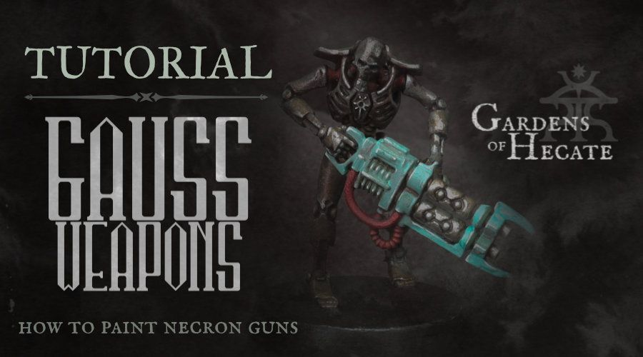 Tutorial: Painting Gauss Weapons