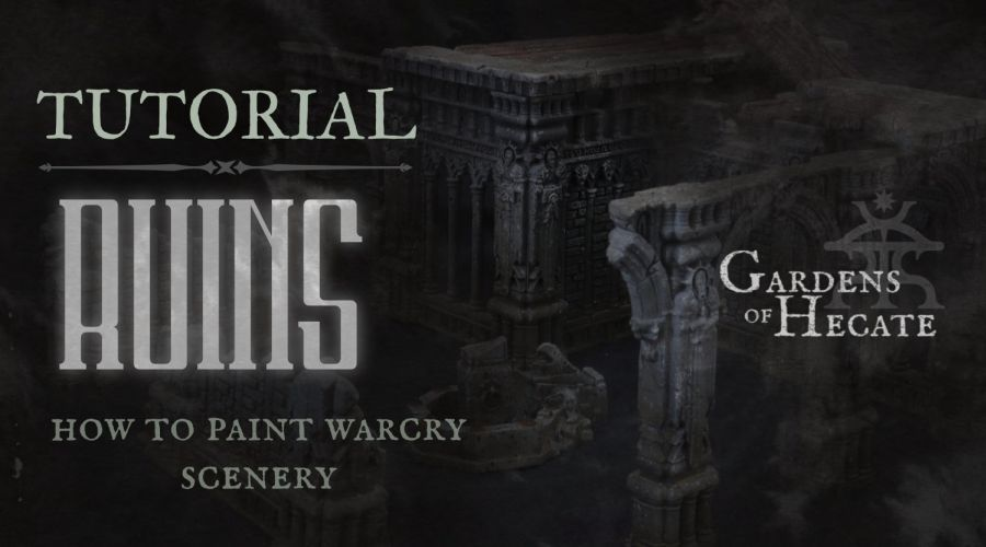 Tutorial: Painting Warcry Ruins