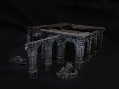 Charnel Throne & Other New Scenery